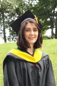 Afshan Graduation